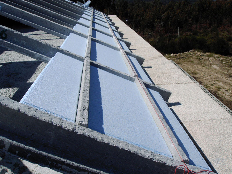 Insulated Roof - system Isolripa Previcon